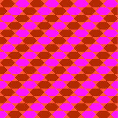 Retro Diagonal Pattern