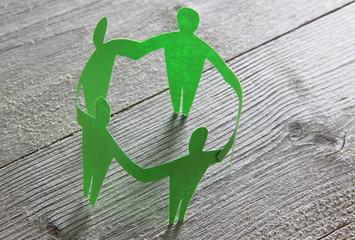 Zusammenhalt, Gemeinsamkeit, Solidarität - Konzept