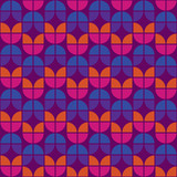 Seamless Colorful Retro Pattern