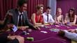 Man wins poker game