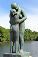 Gustav Vigeland Park. Oslo