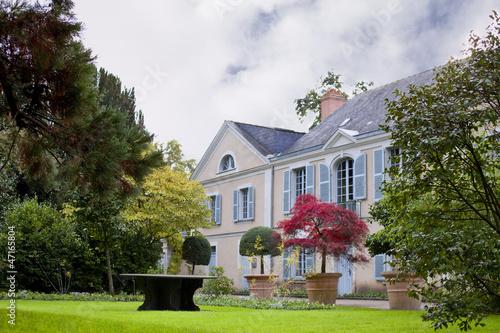 Maison, jardin, immobilier, luxe, charme, habitat, vert