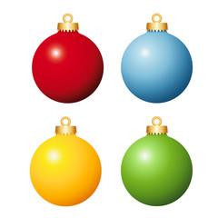 Weihnachtskugeln Set