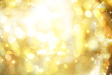 Fototapety Golden lights background