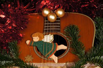 Weihnachten und Gitarre