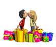 Kissing With Presents