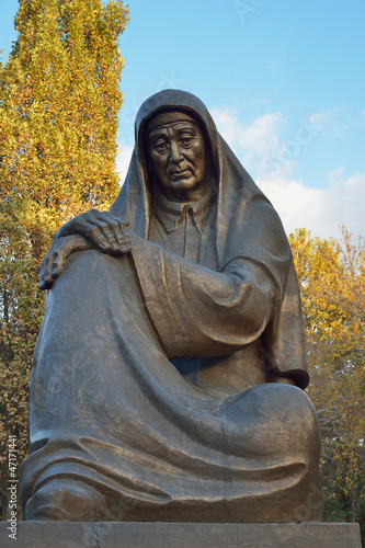 Mother Monument in Tashkent