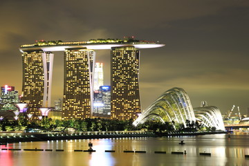 Marina Bay Sands & Gardens by the Bay 1
