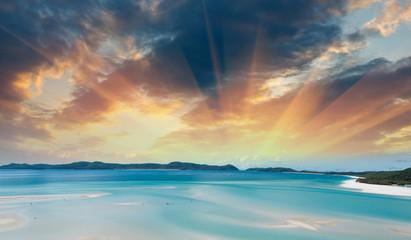 Wonderful colors of Whitsunday Islands on winter season, Austral