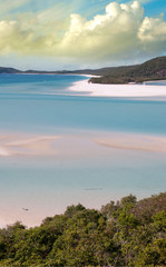 Wonderful colors of Whitsunday Islands on winter season, Austral
