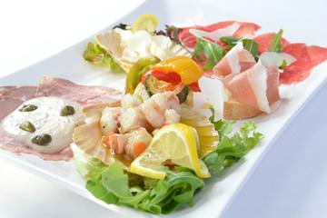 italienische Vorspeise, Vorspeisenteller