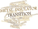 Word cloud for Metal-insulator transition
