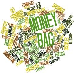 Word cloud for Money bag