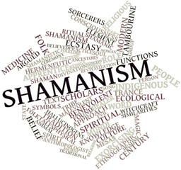 Word cloud for Shamanism