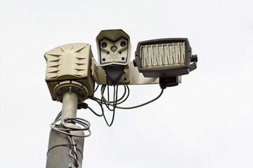 Infra Red closed curcuit television cameras or CCTV
