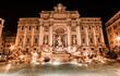 Leinwanddruck Bild - Roma- Fontana di Trevi