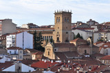 Panoramic view of Soria (Spain)