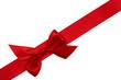 rote Schleife diagonal