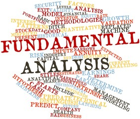 Word cloud for Fundamental analysis