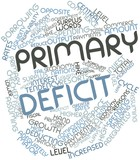 Word cloud for Primary deficit