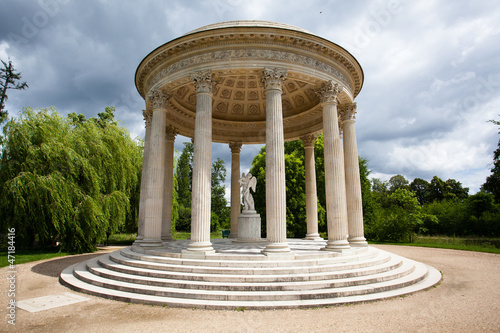 The Temple of Love in the gardens of Trianon, Versailles Castle