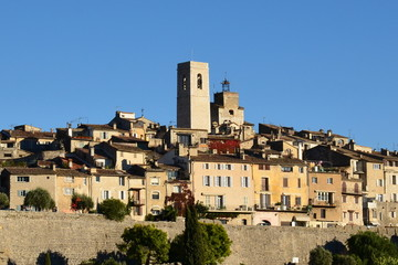 France, côte d'azur, Saint Paul de Vence, village féodal