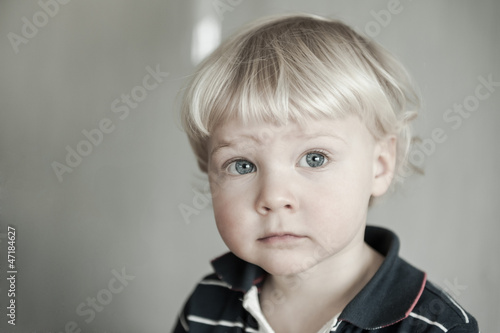 Beautiful child portrait