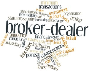 Word cloud for Broker-dealer