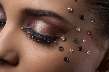 Luxury party makeup