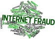 Word cloud for Internet fraud