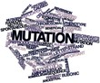 Word cloud for Mutation