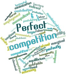 Word cloud for Perfect competition