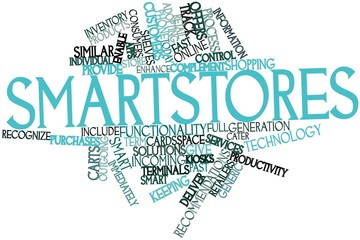 Word cloud for Smartstores