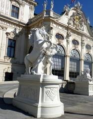 Statue équestre- Vienne