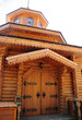 wooden building (small wooden church)