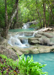 Erawan waterfall National Park Thailand