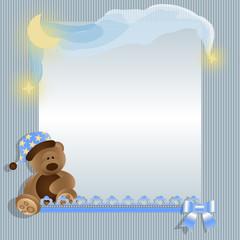 Kind Baby Karte Textfeld