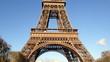 La Tour Eiffel - Beautiful colors of Eiffel Tower in Paris