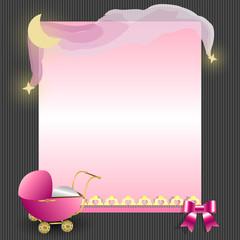 Baby Kind Karte Layout