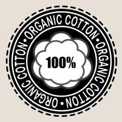 Organic Cotton 100% Seal