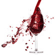 Quadro pouring red wine