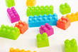Colorful palstic blocks
