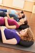 Gruppe bei Entspannungsübung
