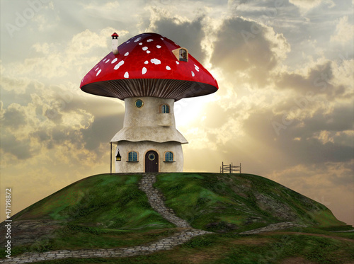 mashroom house - 47198872