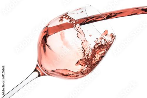 Fotobehang Bar rose wine