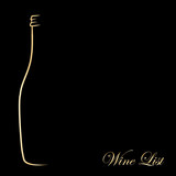 Wine list_gold