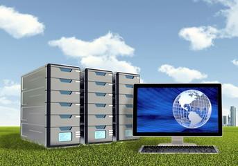 Server  Computer Concept