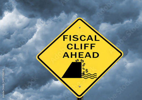 Fiscal cliff warning