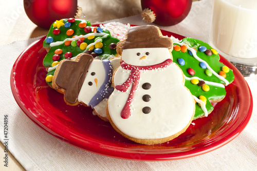 Festive Christmas Cookie