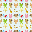 seamless pattern animal
